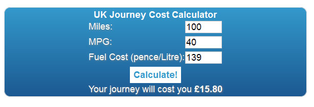 Once you have worked out your Miles per gallon using the MPG calculator you […]