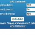 We have created this handy Miles Per Gallon (MPG) calculator, while many cars […]